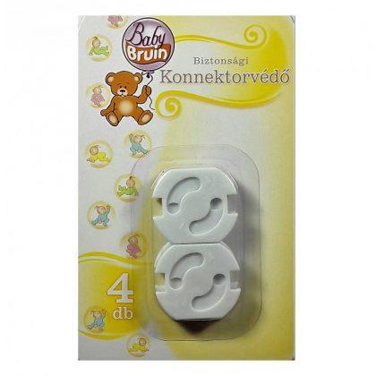 BabyBruin biztonsági konnektorvédő, 4 db-os