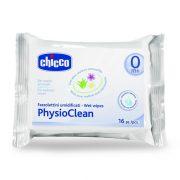 Chicco PhysioClean hidratáló nedves orrtörlő-kendő aloe-verával és kamillával 16 db