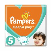 Pampers Sleep & Play pelenka, Junior 5, 11-16 kg, HAVI PELENKACSOMAG 4x42 db