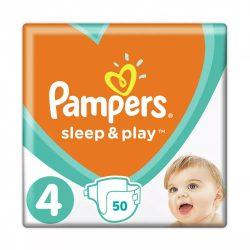 Pampers Sleep & Play pelenka, Maxi 4, 8-14 kg, 50 db-os