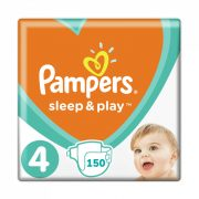 Pampers Sleep & Play pelenka, Maxi 4, 9-14 kg, HAVI PELENKACSOMAG 3x50 db