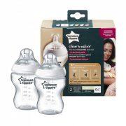 Tommee Tippee CTN BPA-mentes cumisüveg duo 260ml