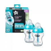 Tommee Tippee Advanced anti colic cumisüveg duo 2x260 ml (türkiz)