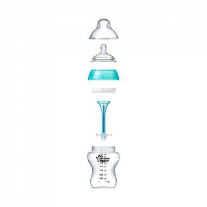 Tommee Tippee Advanced anti-colic cumisüveg duo 2x260 ml (türkiz)