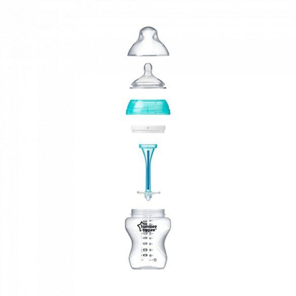 Tommee Tippee Advanced anti colic cumisüveg duo 2x260 ml (türkiz)