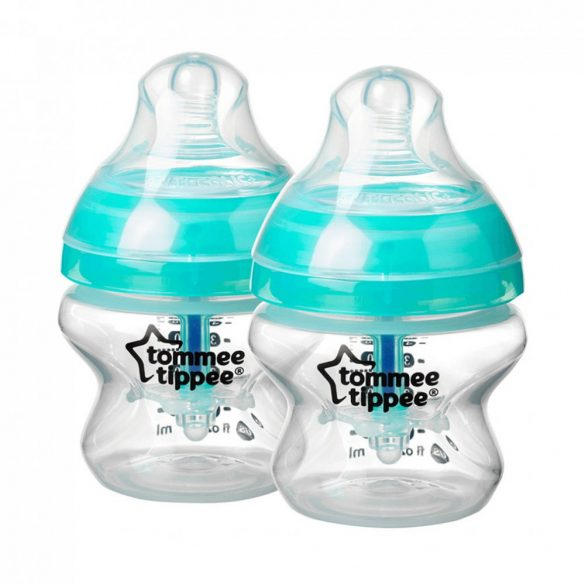 Tommee Tippee Advanced anti colic cumisüveg duo 2x150 ml (türkiz)