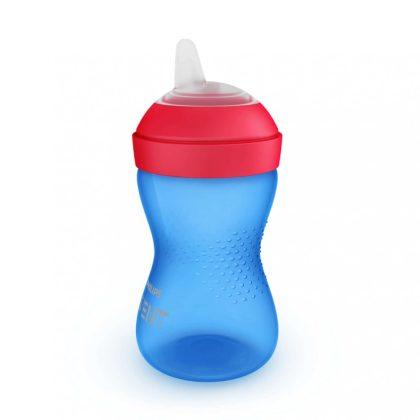 Avent SCF802/01 Puha harapásálló csőrös pohár 300 ml (kék)