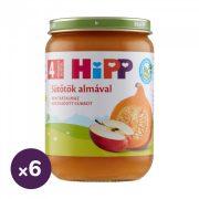 Hipp BIO sütőtök almával, 4 hó+ (6x190 g)