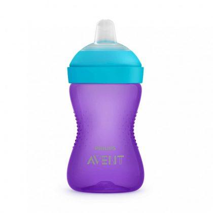 Philips Avent SCF802/02 Puha harapásálló csőrös pohár 300 ml (lila)
