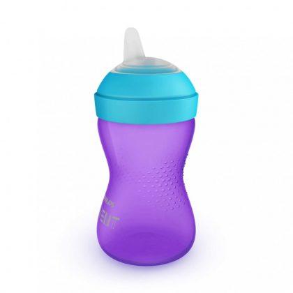Avent SCF802/02 Puha harapásálló csőrös pohár 300 ml (lila)