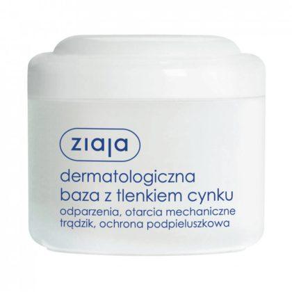 ZIAJA Bőrgyógyászati báziskrém cink-oxiddal 80 ml