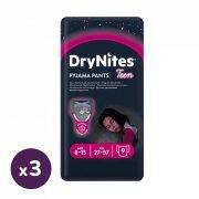 Huggies Drynites éjszakai pelenka, 8-15 éves korú lánynak, 27-57 kg, 3x9 db