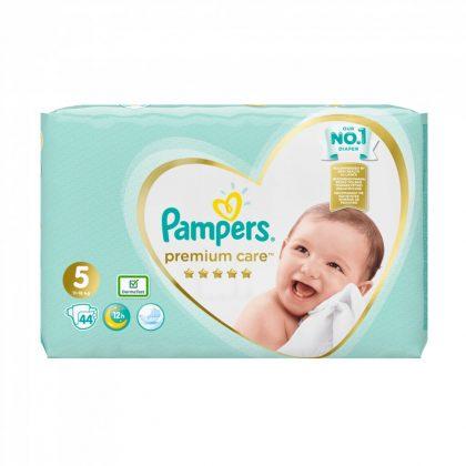 Pampers Premium Care pelenka, Junior 5, 11-18 kg, 44 db-os