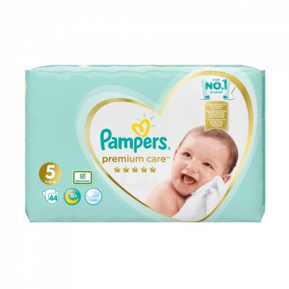Pampers Premium Care pelenka, Junior 5, 11-16 kg, 44 db