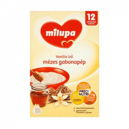 Milupa vanília ízű mézes gabonapép 12 hó+ (250 g)