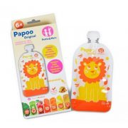 Petite&Mars Papoo Original tasak bébiételekhez - oroszlán (6 db)