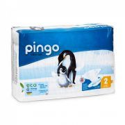 Pingo ökológiai eldobható bio pelenka Mini 2, 3-6 kg, 42 db