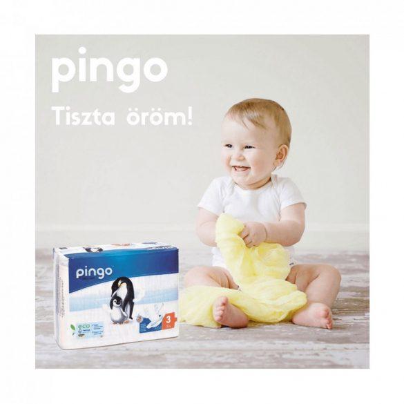 Pingo ökológiai eldobható pelenka Junior 5, 11-25 kg, 36 db