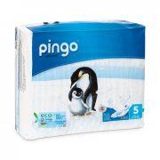 CSOMAGOLÁSSÉRÜLT - Pingo ökológiai eldobható pelenka Junior 5, 11-25 kg, 36 db