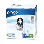 Pingo ökológiai eldobható bio pelenka Junior+ 6+, 15-30 kg, 32 db