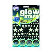 Glowstars foszforeszkáló csillag matrica szett - 350 db matricával