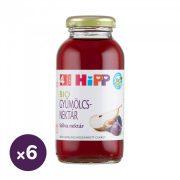 Hipp BIO szilva gyümölcsnektár C-vitaminnal, 4 hó+ (6x200 ml)