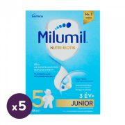 Milumil 5 Junior gyerekital 36 hó+ (5x600 g)