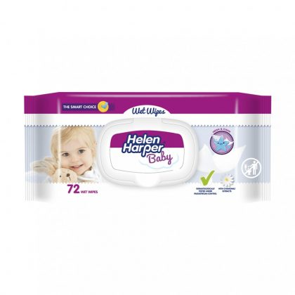 Helen Harper Baby nedves törlőkendő 72 db