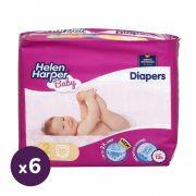 Helen Harper Baby pelenka, Mini 2, 3-6 kg, HAVI PELENKACSOMAG 6x20 db