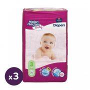 Helen Harper Baby pelenka, Midi 3, 4-9 kg, HAVI PELENKACSOMAG 3x70 db