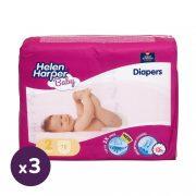 Helen Harper Baby pelenka, Mini 2, 3-6 kg, HAVI PELENKACSOMAG 3x78 db