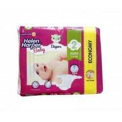 Helen Harper Baby nadrágpelenka, Mini 2, 3-6 kg, 78 db-os