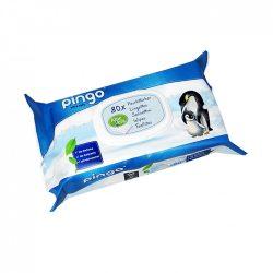 Pingo ökológiailag lebomló nedves törlőkendő (bio) 80 db