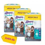 Libero Comfort nadrágpelenka Maxi 4, 7-11 kg, HAVI PELENKACSOMAG 3x84 db
