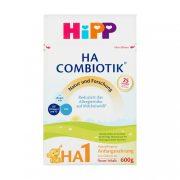 Hipp HA1 Combiotik hipoallergén, tejalapú, anyatej-helyettesítő tápszer 0 hó+ (600 g)