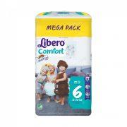 Libero Comfort pelenka megapack, Junior 6, 13-20 kg, 72 db