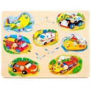 Fa fogantyús puzzle - repülős