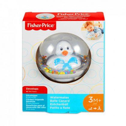 Fisher-Price: Úszó kiskacsa - fehér