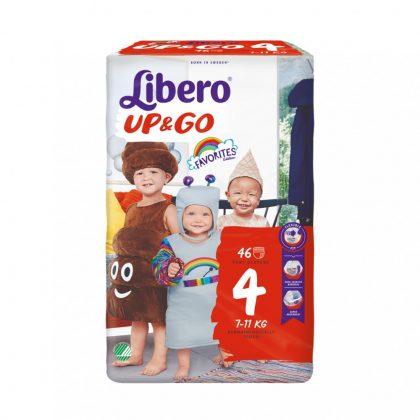 Libero UP&GO bugyipelenka, Maxi 4, 7-11 kg, 46 db