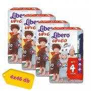 Libero UP&GO Maxi 4, 7-11 kg, HAVI PELENKACSOMAG 4x46 db
