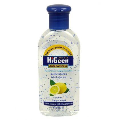 Hiclean alkoholos kézfertőtlenítő gél - citrom (100 ml)