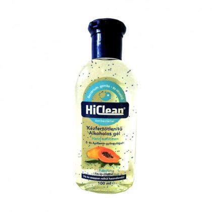 Hiclean alkoholos kézfertőtlenítő gél - papaja (100 ml)