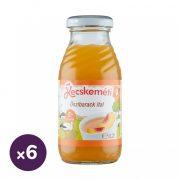 Kecskeméti őszibarack gyümölcsital, 4 hó+ (6x200 ml)