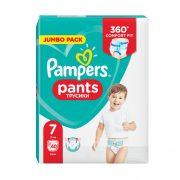 Pampers Pants bugyipelenka, Extra Large 7, 17 kg+, 40 db