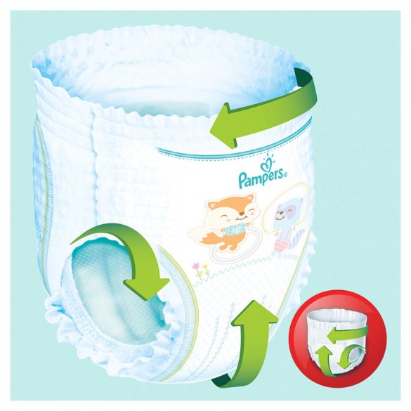 Pampers Pants bugyipelenka, XL 7, 17 kg+, 2+1, 120 db