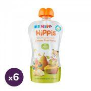 Hipp HiPPiS BIO gyümölcspép banán-körte-mangó 4 hó+ (6x100 g)