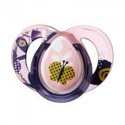 Tommee Tippee Moda játszócumi 6-18 hó (rózsaszín) - pillangó