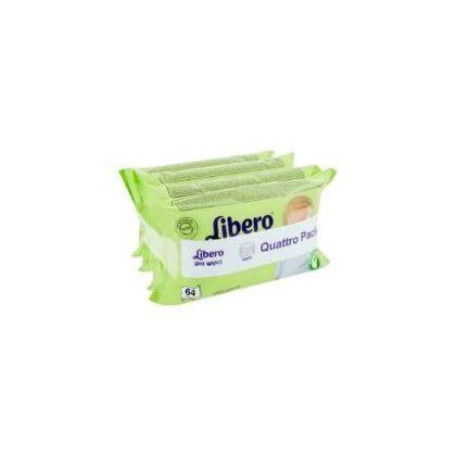 Libero Wet Wipes törlőkendő 256 db