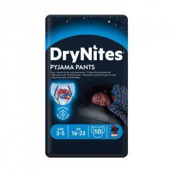 Huggies Drynites éjszakai pelenka 3-5 éves korú fiúnak (16-23 kg), 10 db