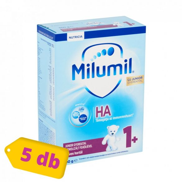 Milumil HA Junior gyerekital hidrolizált fehérjével 12 hó+ (5x500 g)